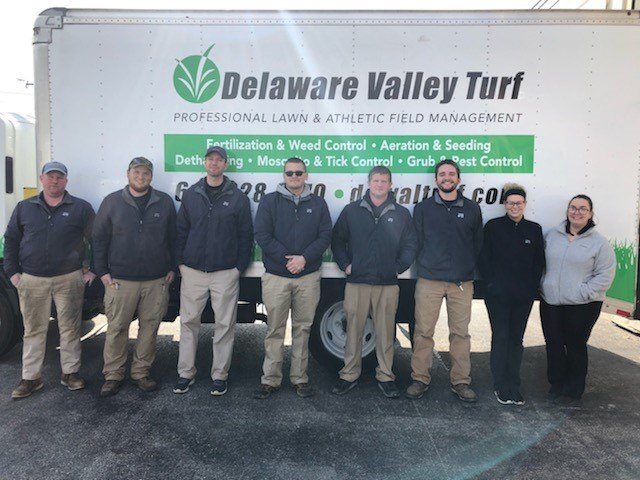 The team of lawn care professionals at Delaware Valley Turf