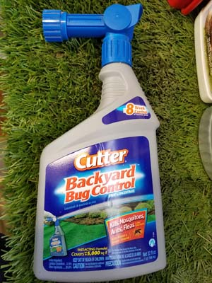 Cutter Backyard Bug Control sold by the professionals at Delaware Valley Turf in Newtown Square PA