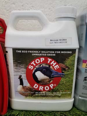 Canada Geese Control sold by the professionals at Delaware Valley Turf in Newtown Square PA