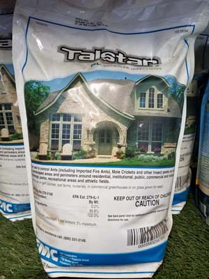 Talstar sold by the experts at Delaware Valley Turf in Wayne PA