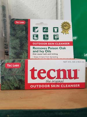 Tecnu sold by the experts at Delaware Valley Turf in Malvern PA