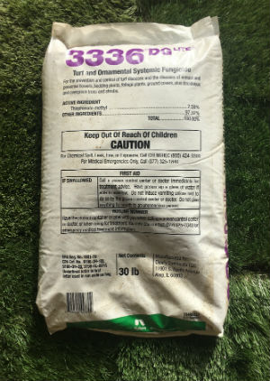 Cleary 3336 Fungicide sold by the professionals at Delaware Valley Turf in Newtown Square PA