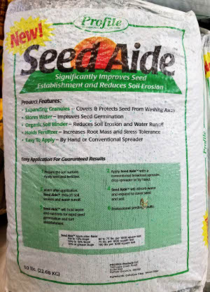 Seed aide sold by the Professionals at Delaware Valley Turf in West Chester PA