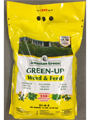 Green-Up Weed & Feed product