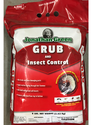 Grub and Insect Control sold by the professionals at Delaware Valley Turf in Newtown Square PA