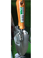 Hand trowel sold by the specialists at Delaware Valley Turf in Newtown PA