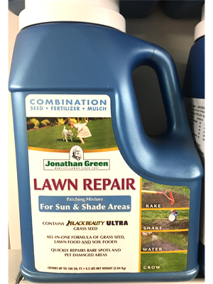 Lawn Repair sold by the professionals at Delaware Valley Turf in Bryn Mawr PA