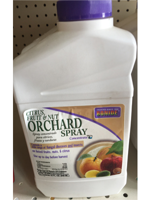 Orchard Spray product