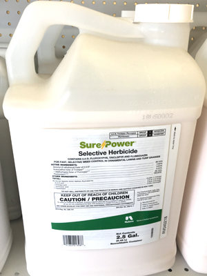 Sure Power sold by the professionals at Delaware Valley Turf in Bryn Mawr PA