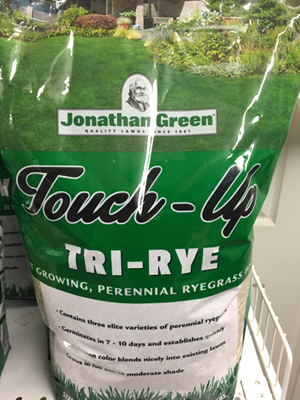 Touch-Up Tri-Rye sold by the experts at Delaware Valley Turf in Wayne PA