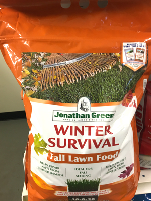 Winter Survival 10-0-20 sold by the experts at Delaware Valley Turf in Malvern PA